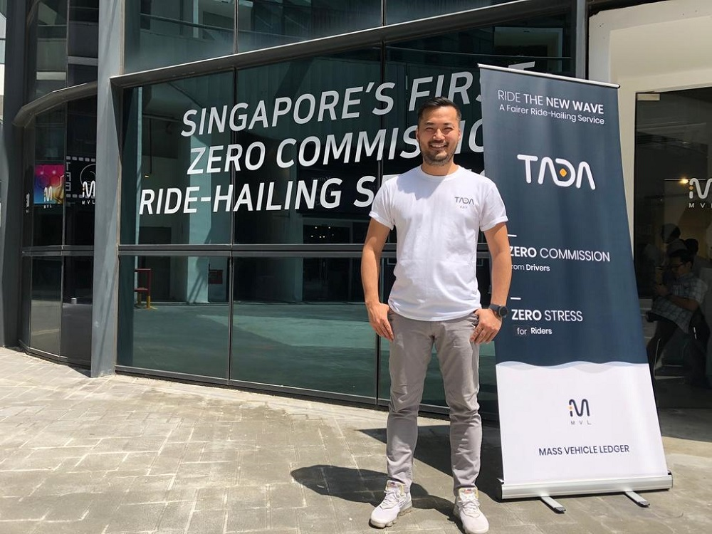 TADA, Blockchain based ride app opens in Singapore