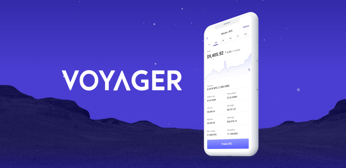 Voyager to release Commission-Free Crypto Trading App
