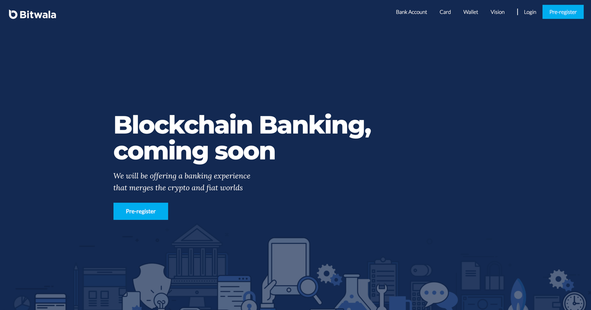 Bitwala raises €4 Million to launch Crypto Banking Service