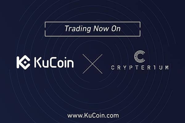 KuCoin Exchange declares the Listing of Crypterium