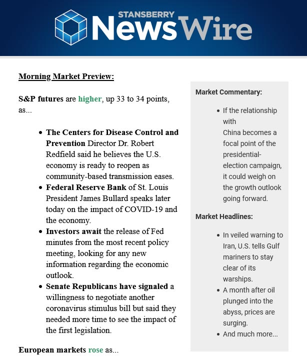 stansberry-newswire-market-report